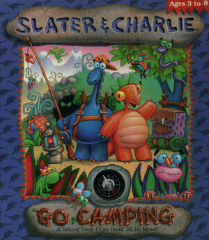 Cover for Slater & Charlie Go Camping.