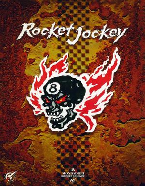 Cover for Rocket Jockey.
