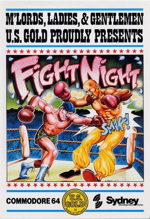 Cover for Fight Night.