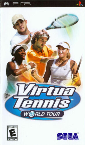 Cover for Virtua Tennis: World Tour.