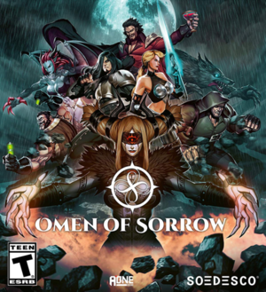 Cover for Omen of Sorrow.