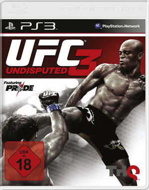 Cover for UFC Undisputed 3.