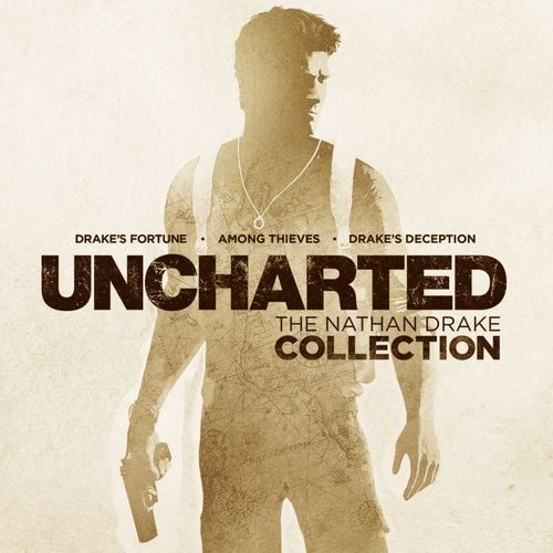Cover for Uncharted: The Nathan Drake Collection.