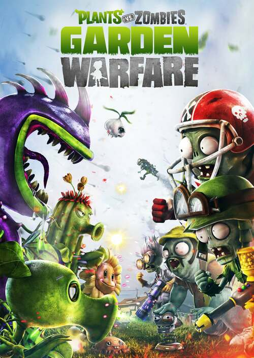 Cover for Plants vs. Zombies: Garden Warfare.