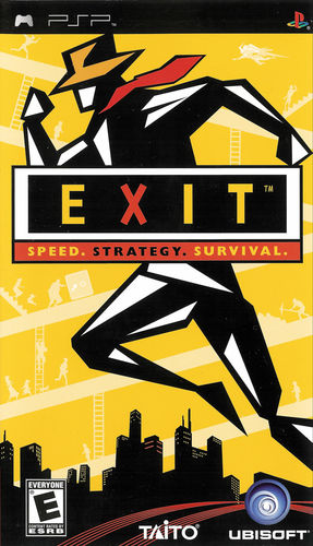 Cover for Exit.