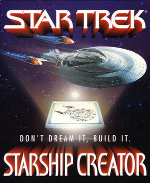 Cover for Star Trek: Starship Creator.