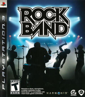 Cover for Rock Band.