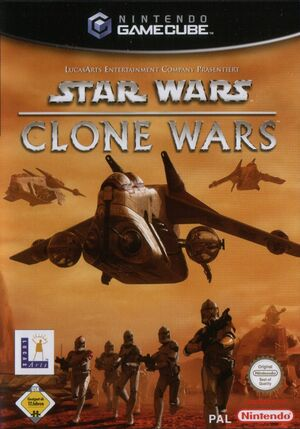 Cover for Star Wars: The Clone Wars.