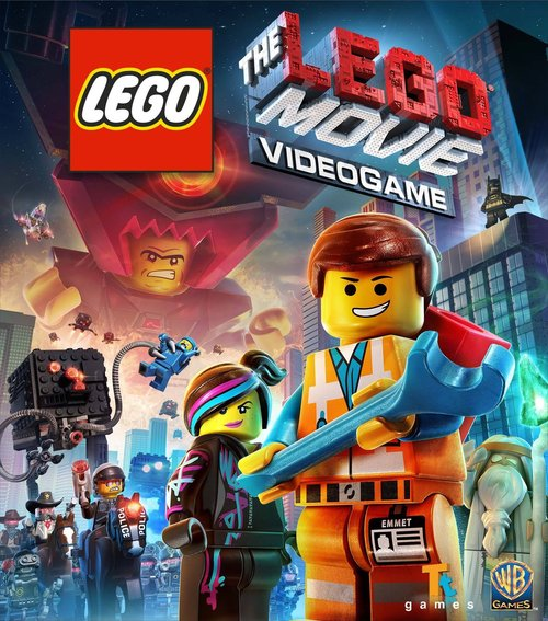 Cover for The Lego Movie Videogame.
