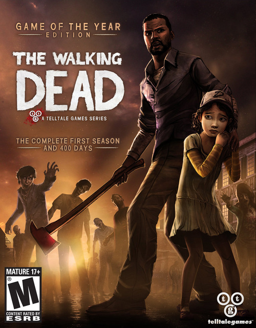 Cover for The Walking Dead: Season One.