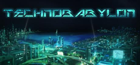 Cover for Technobabylon.
