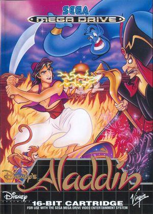 Cover for Disney's Aladdin.