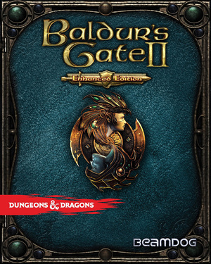 Cover for Baldur's Gate II: Enhanced Edition.