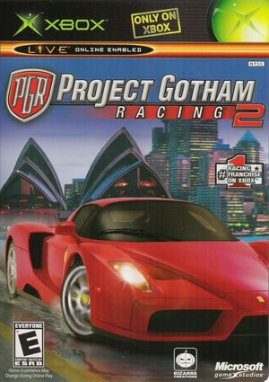 Cover for Project Gotham Racing 2.