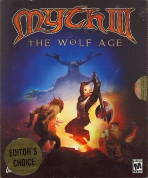 Cover for Myth III: The Wolf Age.