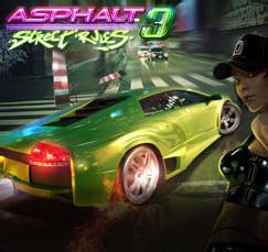 Cover for Asphalt 3: Street Rules.