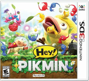 Cover for Hey! Pikmin.