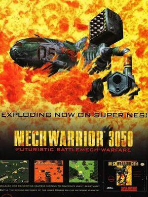 Cover for MechWarrior 3050.