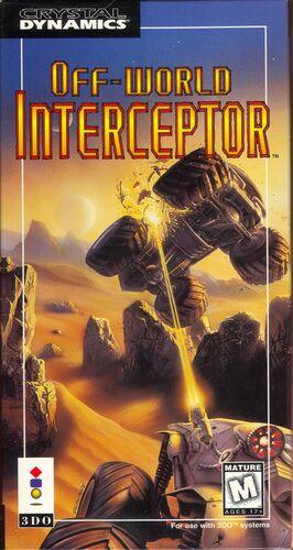 Cover for Off-World Interceptor.