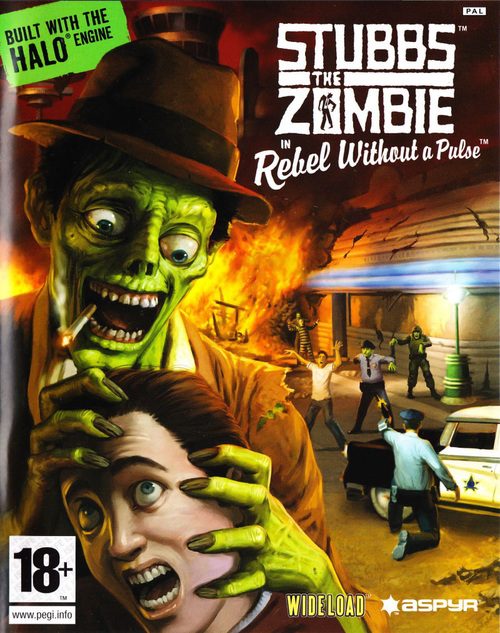 Cover for Stubbs the Zombie in Rebel Without a Pulse.