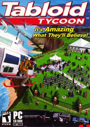 Cover for Tabloid Tycoon.