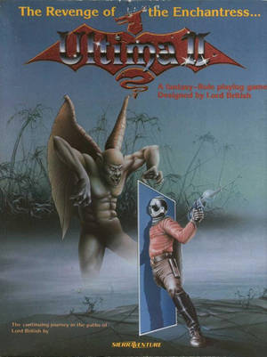 Cover for Ultima II: The Revenge of the Enchantress.