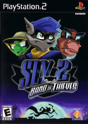 Cover for Sly 2: Band of Thieves.