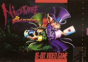 Cover for Nightmare Busters.