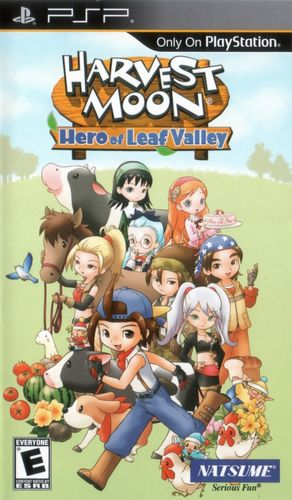 Cover for Harvest Moon: Hero of Leaf Valley.