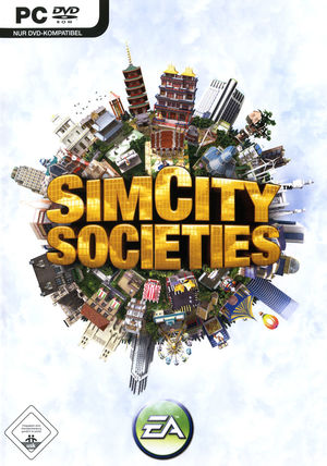 Cover for SimCity Societies.