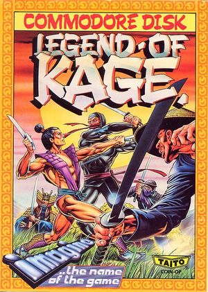Cover for The Legend of Kage.
