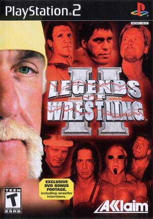 Cover for Legends of Wrestling II.