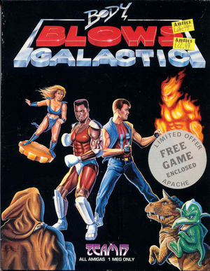 Cover for Body Blows Galactic.
