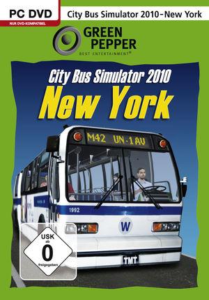 Cover for City Bus Simulator.