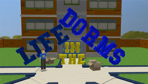 Cover for Life in the Dorms.