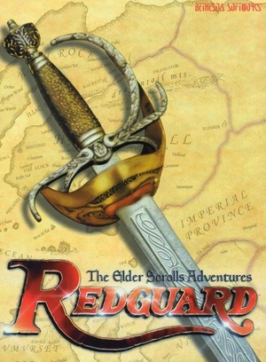 Cover for The Elder Scrolls Adventures: Redguard.