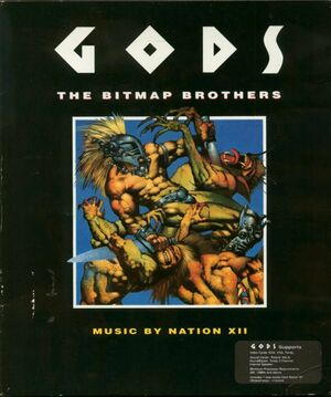 Cover for Gods.