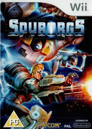 Cover for Spyborgs.