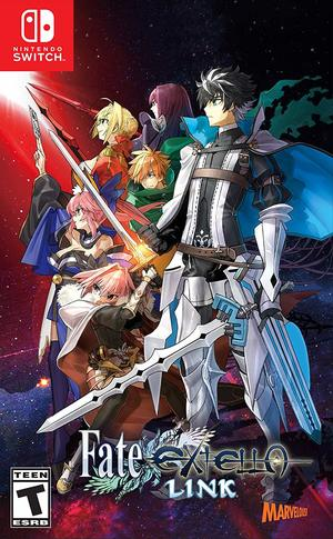 Cover for Fate/Extella Link.