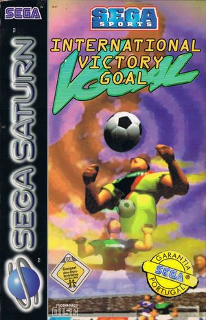 Cover for Worldwide Soccer: Sega International Victory Goal Edition.