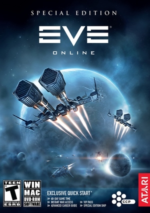 Cover for EVE Online.