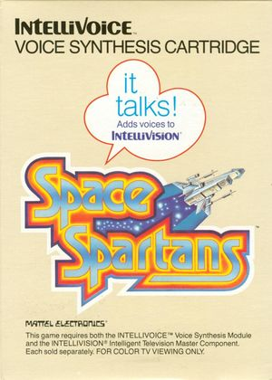 Cover for Space Spartans.