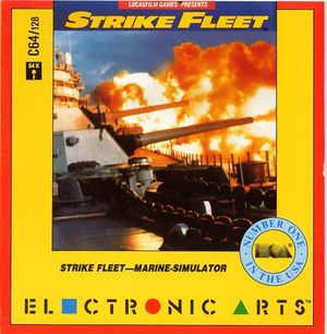 Cover for Strike Fleet.