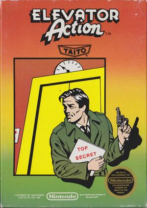 Cover for Elevator Action.
