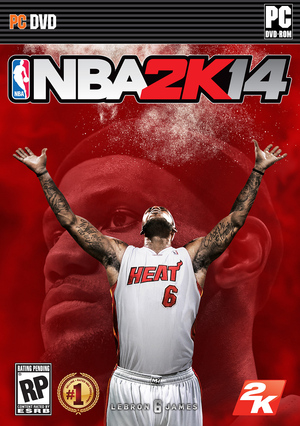 Cover for NBA 2K14.
