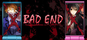 Cover for BAD END.