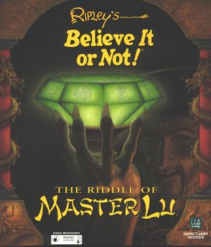 Cover for Ripley's Believe It or Not!: The Riddle of Master Lu.