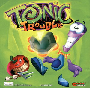 Cover for Tonic Trouble.