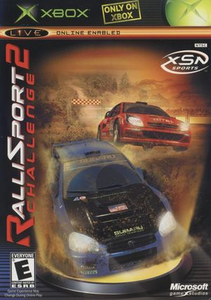 Cover for Rallisport Challenge 2.