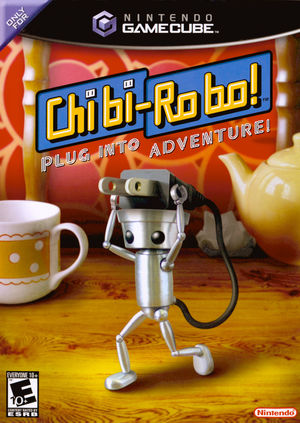 Cover for Chibi-Robo!.